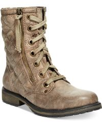 Roxy Rockford Quilted Booties - Lyst