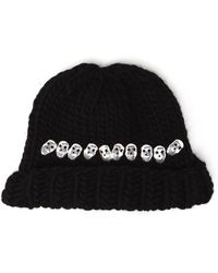 Wool And The Gang | Knitted Skull Beanie Hat | Lyst