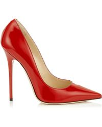 Jimmy Choo Red Anouk - Lyst