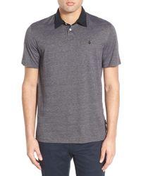 Volcom | Wowzer Grind Striped Polo Shirt | Lyst