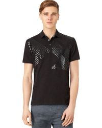 Calvin Klein Jeans Graphic Polo - Lyst