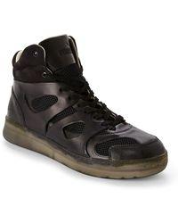 Alexander McQueen x Puma Black Move Mid-Top Sneakers black - Lyst