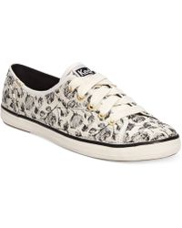 Keds Womens Champion Lace Oxford Sneakers - Lyst