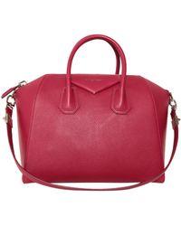 Givenchy Antigona Medium Leather Bag - Lyst