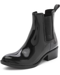 Jeffrey Campbell Stormy Rain Booties - Black - Lyst