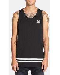 Civil Regime - Graphic High/low Extender Tank - Lyst