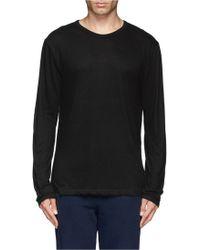 T By Alexander Wang Jersey T-Shirt - Lyst
