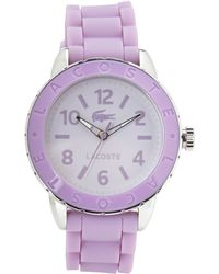 Lacoste Purple Watch - Lyst