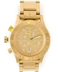 Nixon '42-20 Chrono' Watch - Lyst