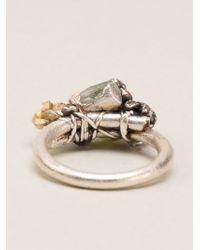 Ruth Tomlinson - Encrusted Ring - Lyst