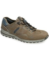 Ecco CS14 Leather Sneakers - Lyst