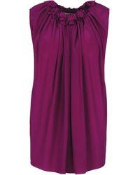 Stella McCartney Purple Yvonne Top - Lyst