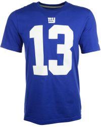 Nike Men'S Short-Sleeve Odell Beckham Jr. New York Giants T-Shirt - Lyst