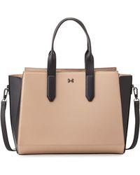 Halston Heritage Leather Eastwest Satchel Bag - Lyst