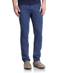 Michael Kors Tailored Straight-Leg Jeans - Lyst