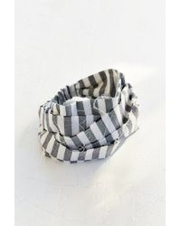 Urban Renewal - Remade Linen Wrap Headband - Lyst