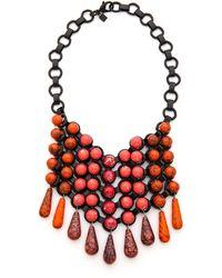 Dannijo Brandace Necklace  Blackpink - Lyst