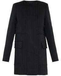 Proenza Schouler Double-Breasted Wool Coat - Lyst