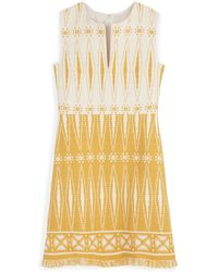 Tory Burch Savora Tweed Dress - Lyst