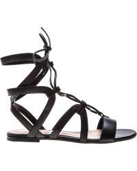 Gianvito Rossi 'Ferah' Sandals - Lyst