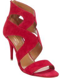 Aquazzura Noor Cutout Sandals - Lyst