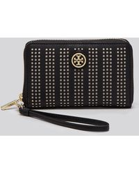 Tory Burch Wristlet - Robinson Perforated Iphone 5/5S - Lyst