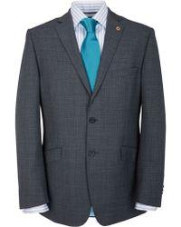 Paul Costelloe Semiplain Suit Jacket - Lyst