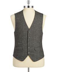 Original Penguin - Herringbone Vest - Lyst