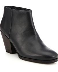 d7800c9df013 Rachel Comey - Mars Leather Booties - Lyst