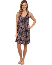 Midnight By Carole Hochman Classic Moments Chemise - Lyst