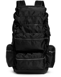 Tim Coppens X Master-Piece 'Glory' Nylon And Leather Backpack black - Lyst