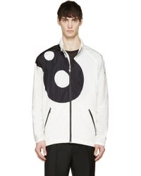 Moncler Gamme Rouge - White Lucky '8' Hooded Jacket - Lyst
