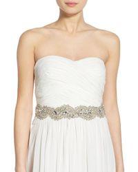 Nestina Accessories - Crystal Bridal Sash - Lyst