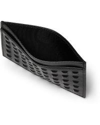 Balenciaga Studded Leather Cardholder - Lyst