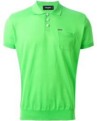 DSquared² Classic Polo Shirt - Lyst