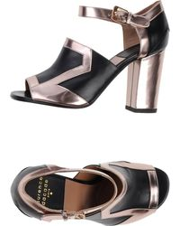 Laurence Dacade Silver Sandals - Lyst