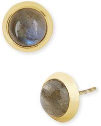 Argento Vivo Cushion Stud Earrings - Lyst