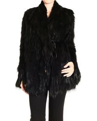 Gucci Black Fur Woman - Lyst