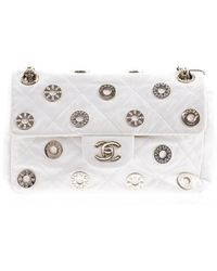 Chanel   Pre-owned: Limited Edition Charm Flap Bag   Lyst