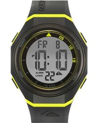 Quiksilver - 'the Breaker' Silicone Strap Watch - Lyst