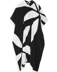 Issa May Jean Printed Silk Crepe De Chine Dress - Lyst