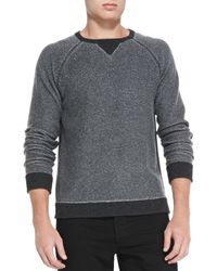 Rag & Bone Jared Raglansleeve Sweater - Lyst