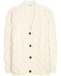 Miu Miu | Wool-blend Cardigan | Lyst