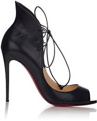 christian louboutin discount shoes - Christian louboutin Fifi Patent Leather Slingback Pumps in Black ...