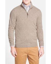 John W. Nordstrom | Quarter Zip Cashmere Sweater | Lyst