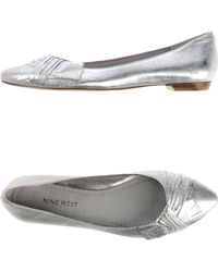 Nine West Ballet Flats - Lyst