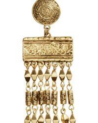 H&M Long Earrings gold - Lyst