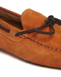 Selected Homme Suede Driving Shoes - Lyst