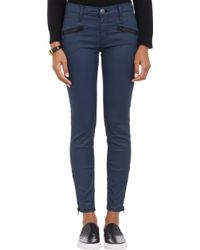 Current/Elliott Soho Zip Stiletto Jeans - Lyst