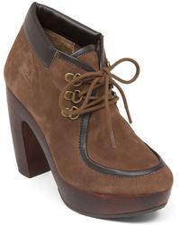 Lucky Brand Cendara High-Heel Ankle Boots - Lyst
